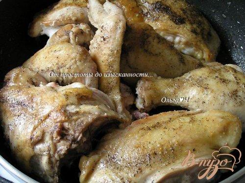 Курица в соусе Эстрагон (в мультиварке)
