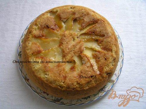 Пирог с яблоками (в мультиварке)
