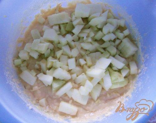 Кокосово-яблочный пирог