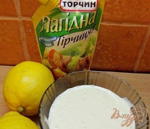 Капустный салат с горчичным соусом