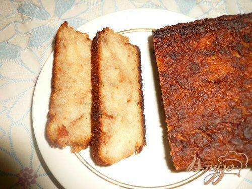 Сладкий картофельный пирог с яблоками