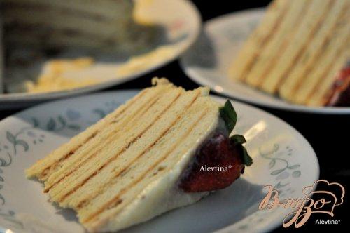 """Торт """" Почти Наполеон"""" на сковороде"""