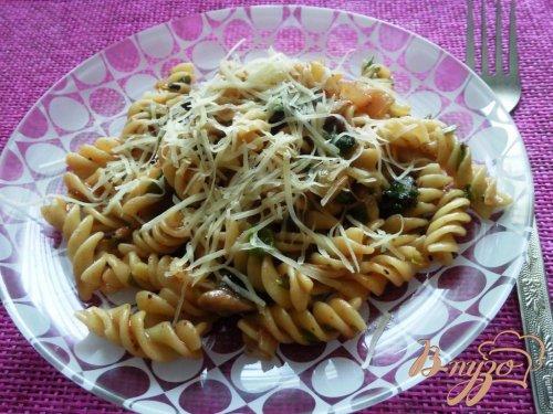 Спирали с овощами (паста)