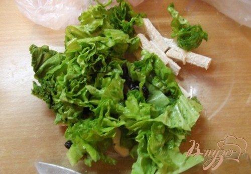 Салат из птицы с черносливом