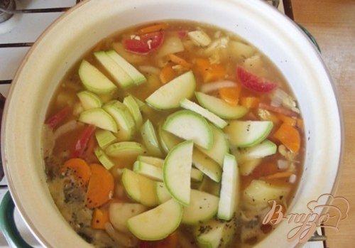 Суп кабачковый