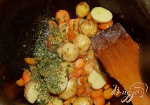 Суп из молодого картофеля