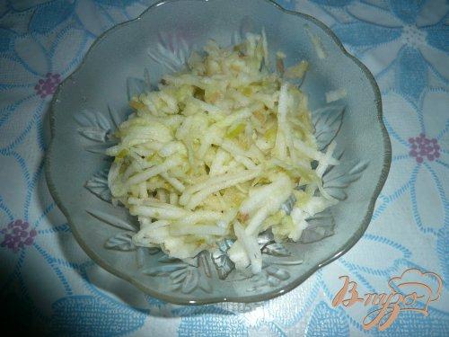 Мини-пирожки из рисовой бумаги с яблочной начинкой