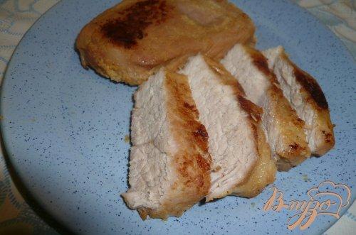 Свинина в горчице