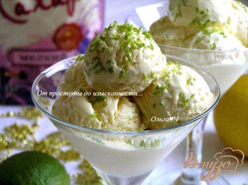 Лимонно-лаймовое мороженое