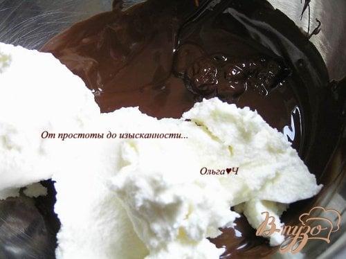 """Печенье """"Кофейные сердечки"""" с шоколадным кремом"""
