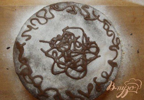 Шифоновый пирог с шоколадным кремом
