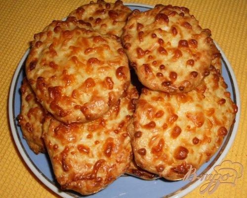 Домашнее сырное печенье