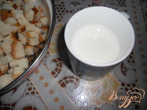 Кекс из черствого хлеба