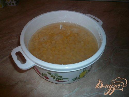 Гороховый суп нежный