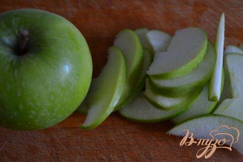 Ньокки с ветчиной и яблоком