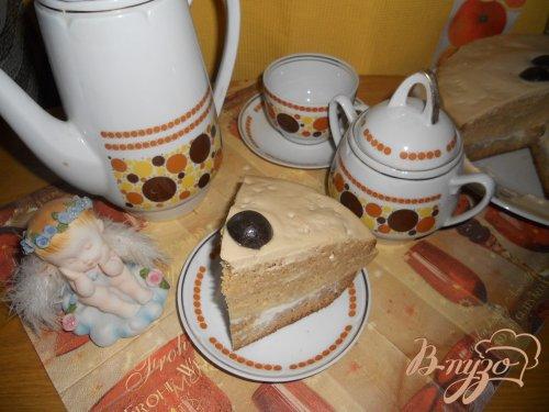 Торт кофейно-лимонный