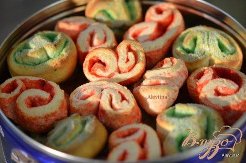 Праздничное творожное печенье