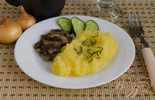 Пюре картофельное с луком
