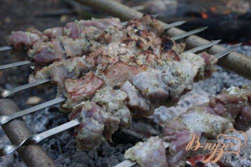 Шашлык свиной в луке