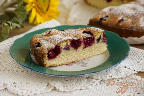 Пирог с летними фруктами