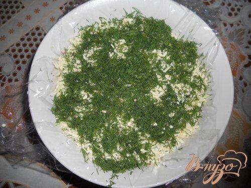 Салат-торт с икоркой