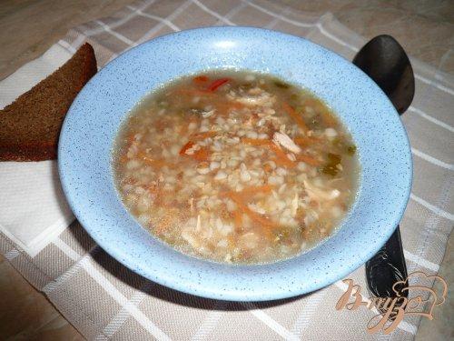 Суп острый с гречкой