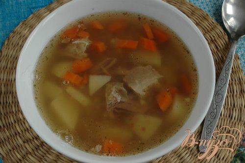 Суп с грудинкой