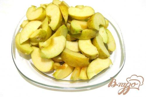 Запеканка из риса и яблок