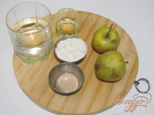 Фокачча с яблоками