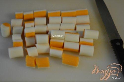 Митлоф с сырно-грибным вкусом