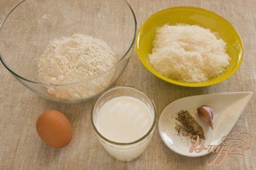 Кекс с сыром и травами