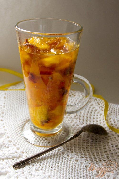 Персиковое варенье с курагой и кардамоном