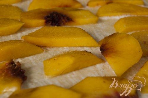 Сконы с персиками