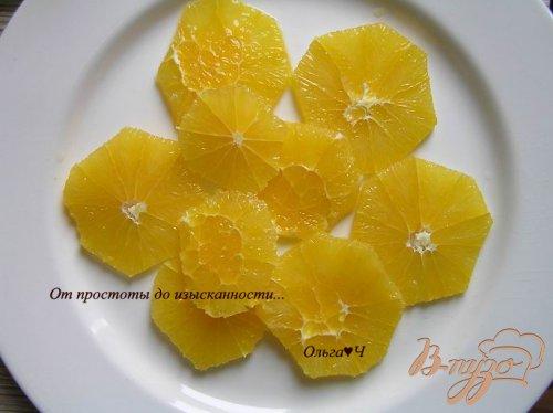 Салат с нутом, апельсином и сладким перцем