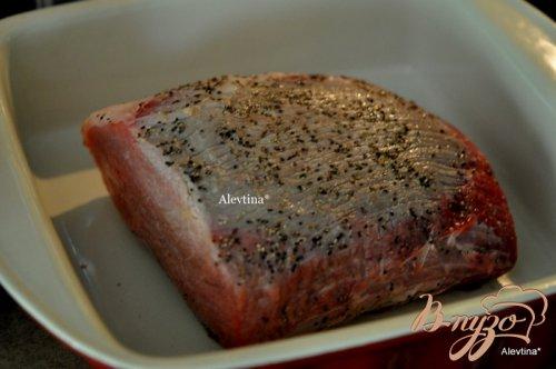 Жаркое с говядиной с имбирно-соевым вкусом