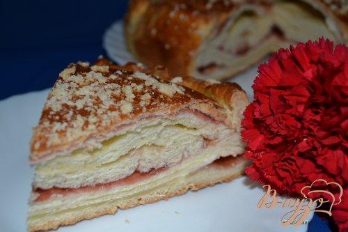Катлы-паштет (слоеный пирог) с джемом