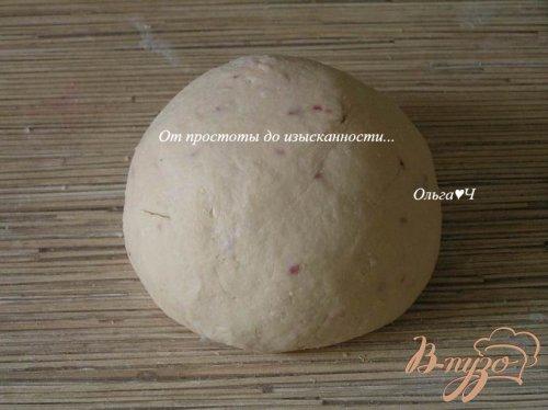 Творожно-малиновые пончики с цитрусовым мороженым