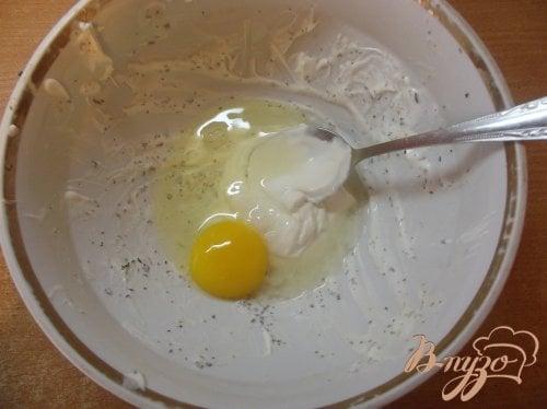 Запеченные куриные крылья с яйцом