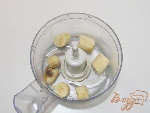 Банановый двухцветный десерт