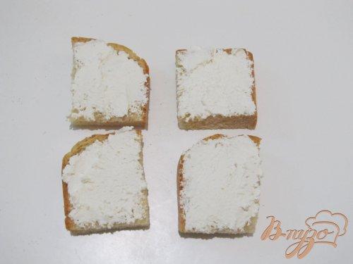 Кростини с сыром и свеклой