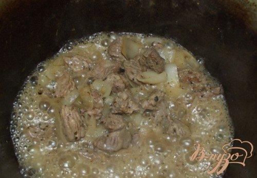 Картофельное пюре на травах с бараниной