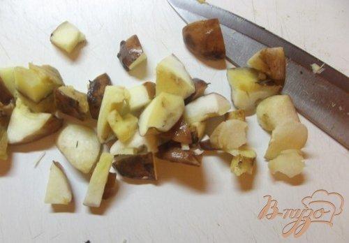 Паста грибная с чесноком