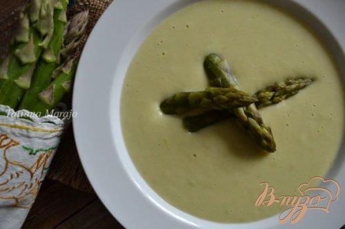 Крем-суп с зеленой спаржей