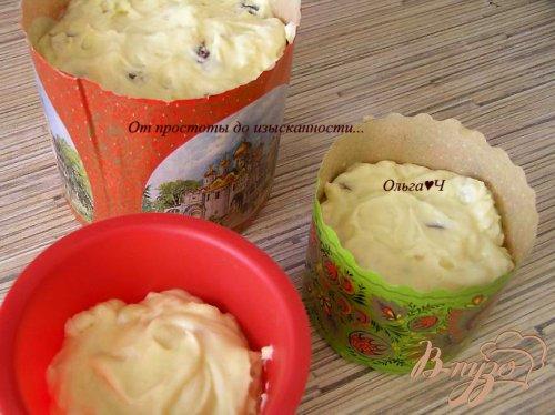 Пасхальные кексы с финиками