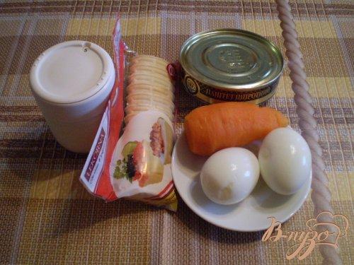 Закуска с рыбным паштетом