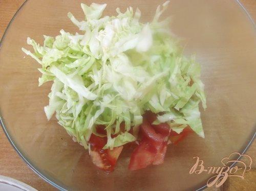 Салат ассорти из овощей и зелени
