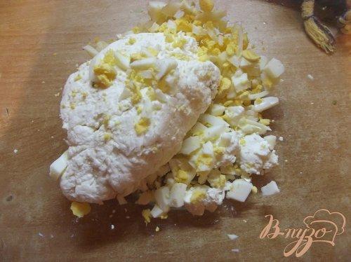 Плацинда с творогом и яйцом