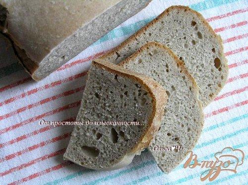 Постный хлеб с мукой из семян льна