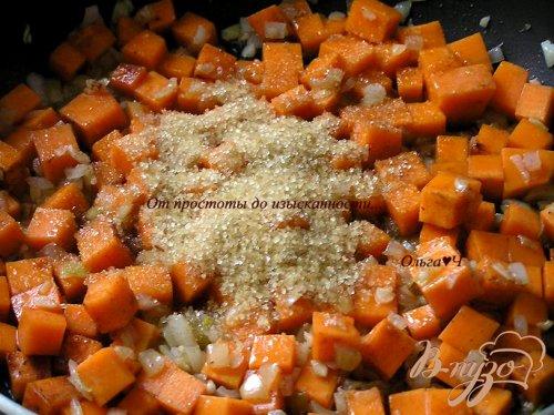 Тыквенный суп с апельсиновым соком