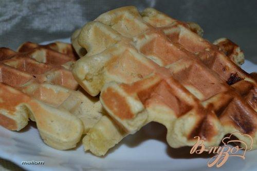 Бананово-апельсиновые вафли